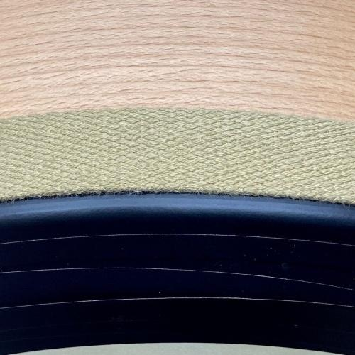 Baumwollband, naturfarben
