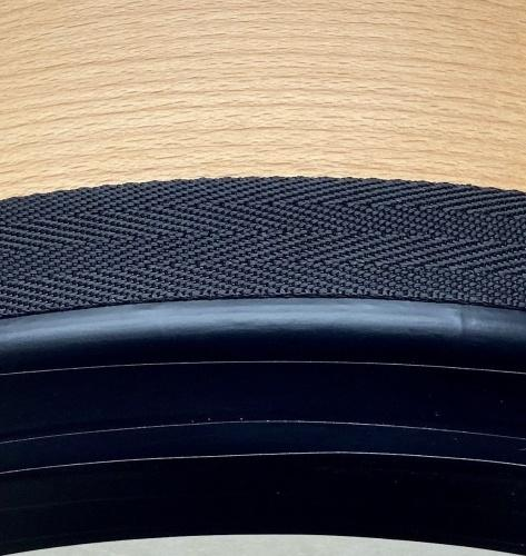 Nylonband schwarz gemustert
